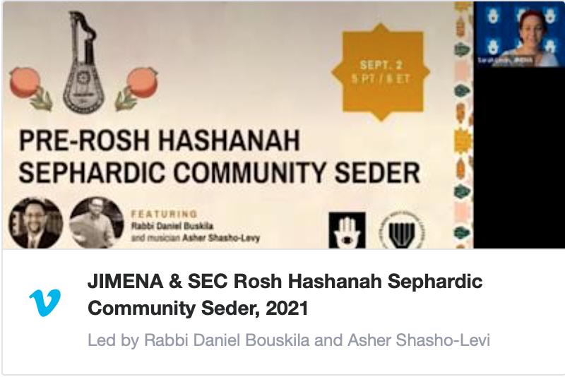 Sephardic Seder